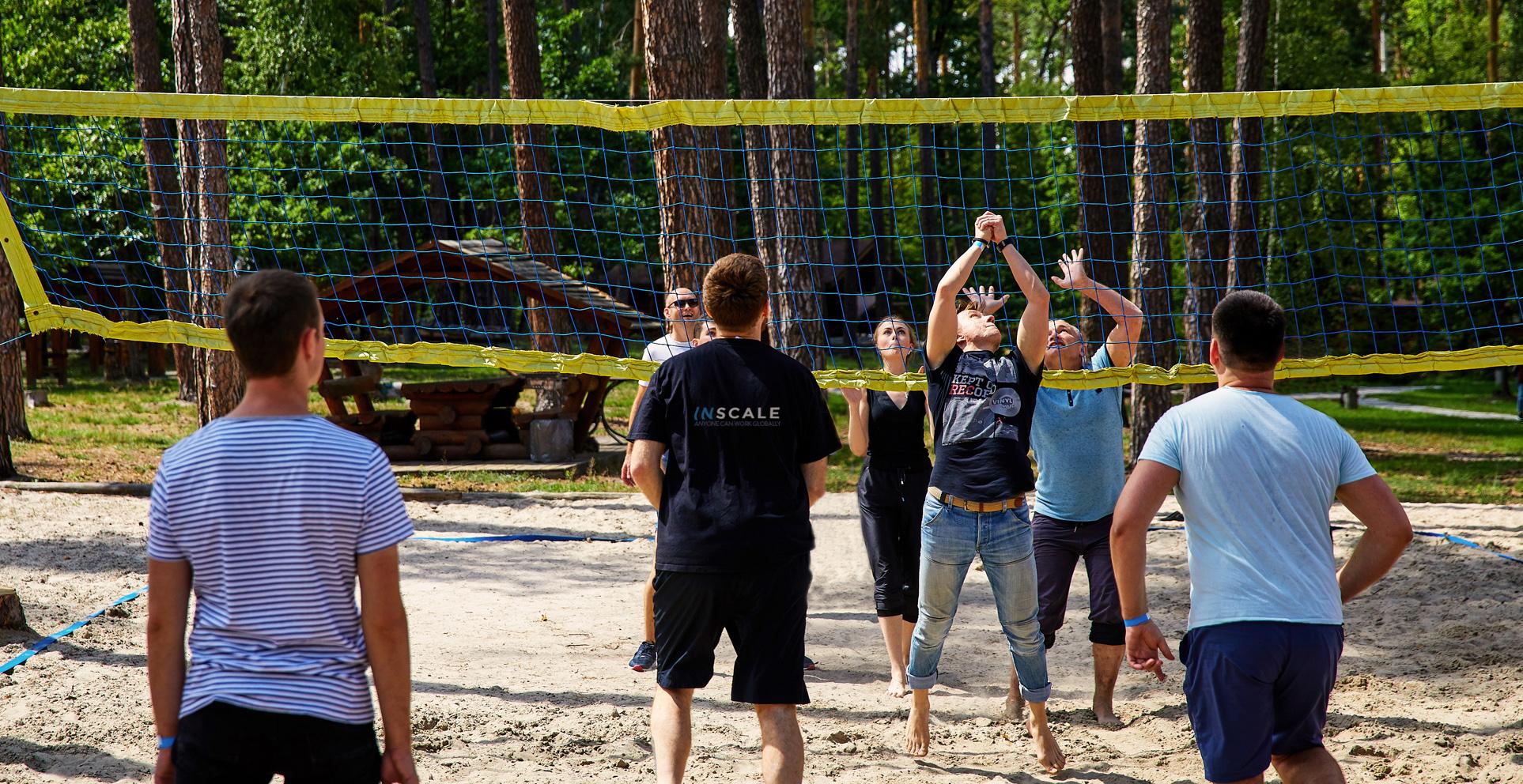 INSCALE - Team Spirit - Volleyball