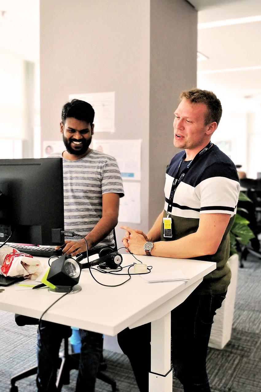 INSCALE - Work Atmosphere - Developer Team