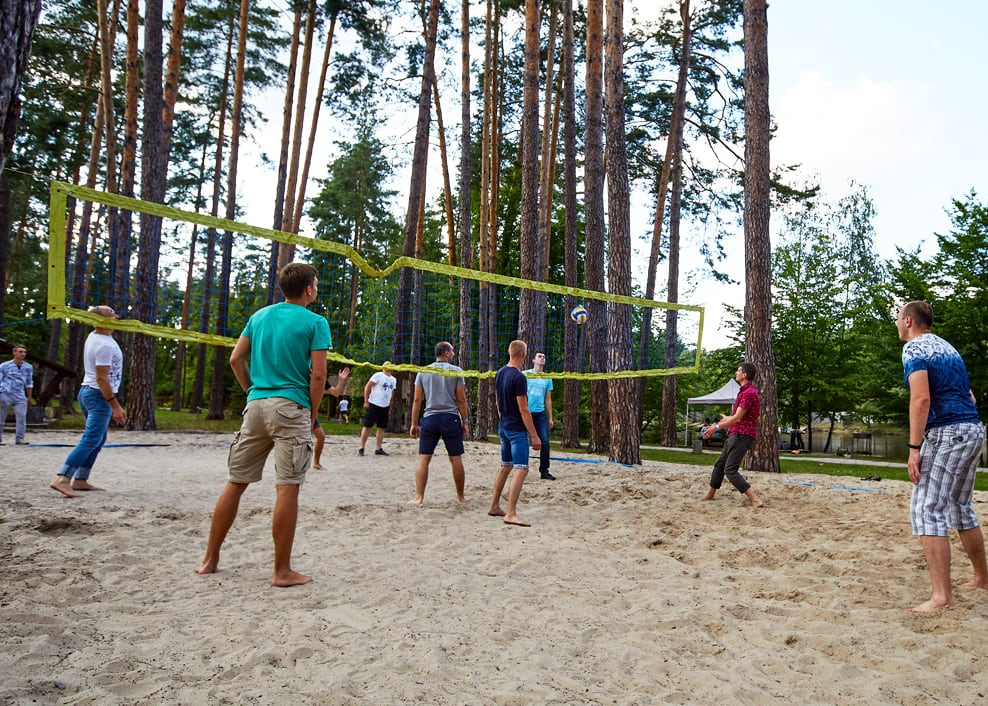 Our team spirit - Volleyball at INSCALE