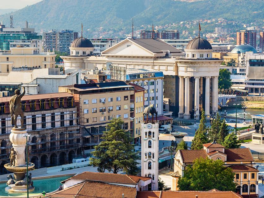 Skopje City - INSCALE Macedonia Office Location