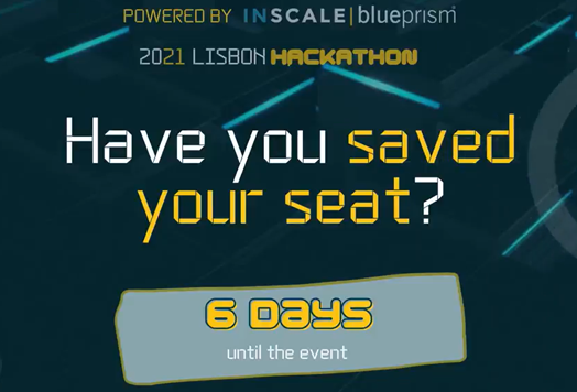 LinkedIn - Hackathon, Lisbon - INSCALE & Blue Prism Event